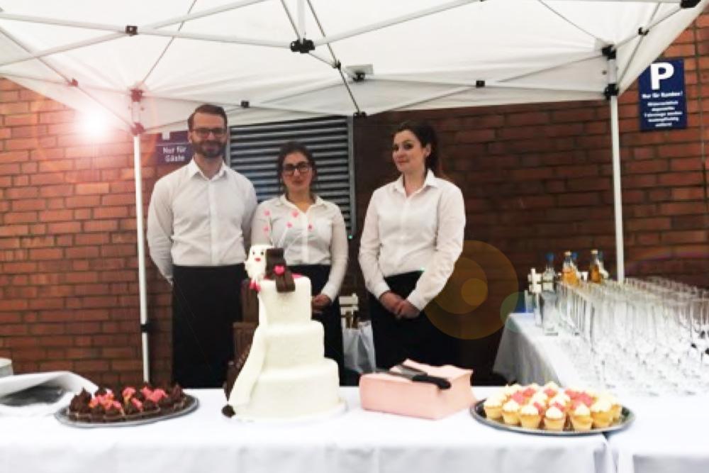 Sektempfang zur Hochzeit direkt am Hamburger Hafen