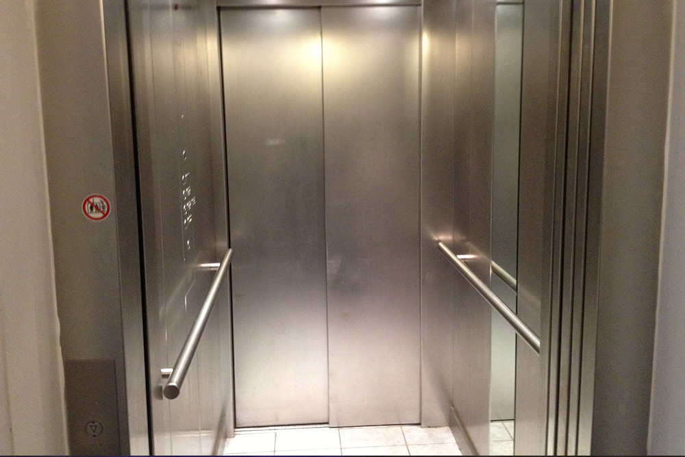 Fahrstuhl verfügbar