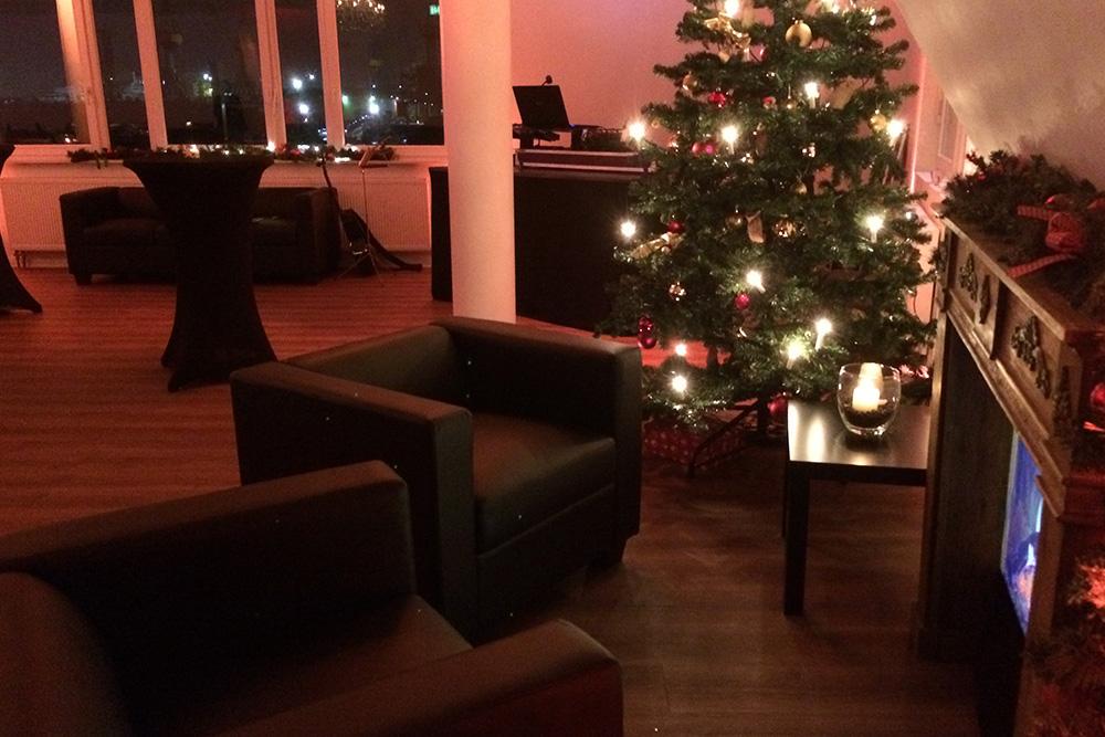 panoramalounge Weihnachten Elbe