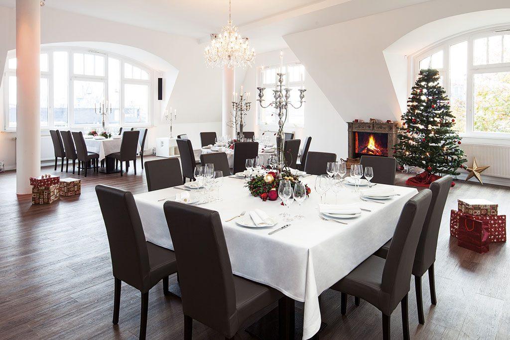 Weihnachtsfeier Hamburg Elbe