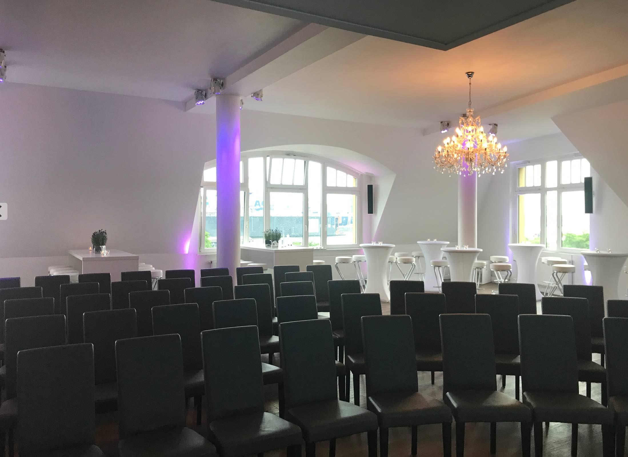 Tagung in der Panorama Lounge Hamburg